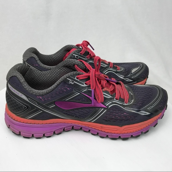 a521fb31040 Brooks Shoes - Brooks Ghost 8 Womens Running Athletic Shoe 9.5